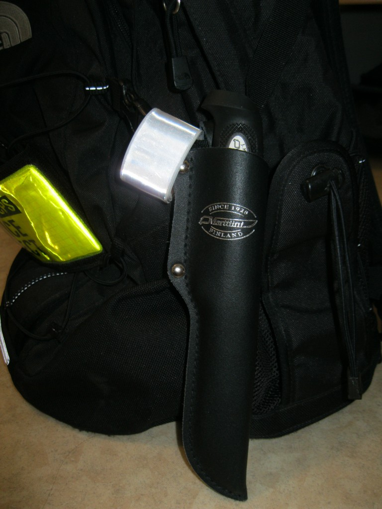 my backpack and blade!