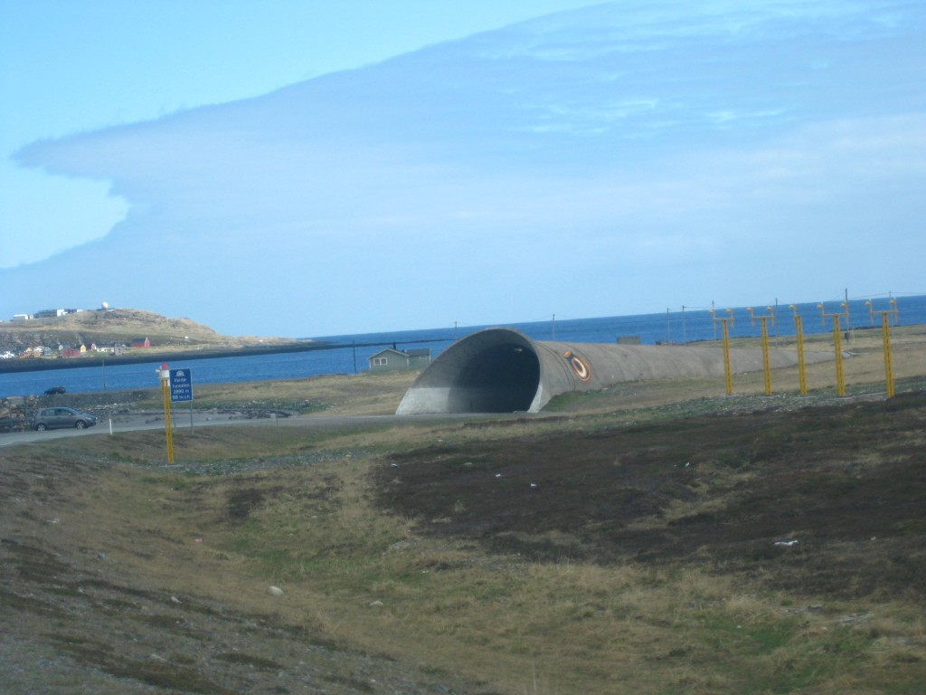 Vardo tunnel entrance
